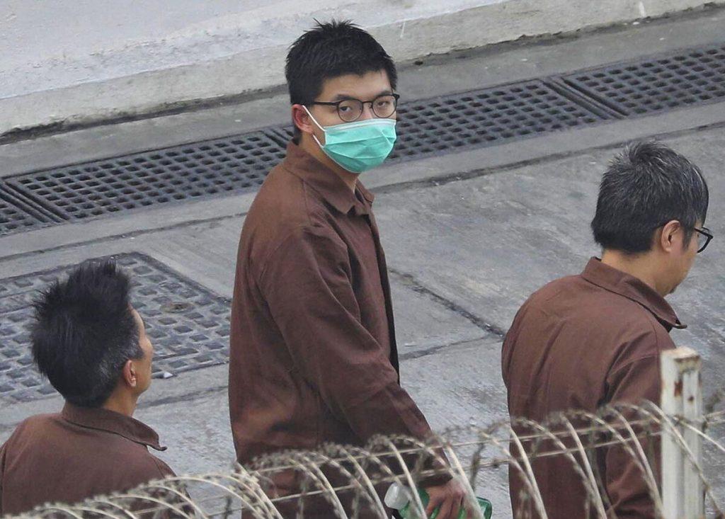 جاشوا وونگ ، فعال هنگ کنگی ، برای سومین بار به دلیل اعتراض محکوم شد