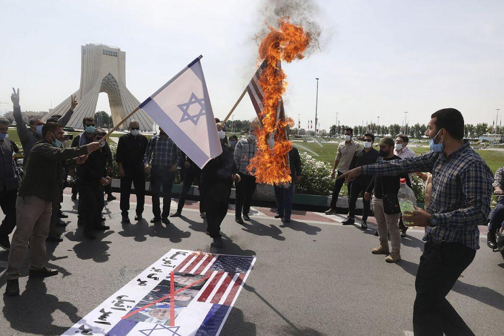 """رهبر عالی ایران گفت: """"اسرائیل"""" یک کشور نیست ، بلکه یک پایگاه تروریستی است"""