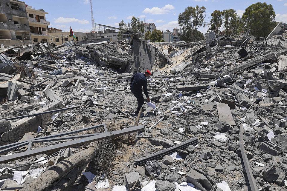 مصر ، کلید دستیابی به آتش بس بین اسرائیل و حماس