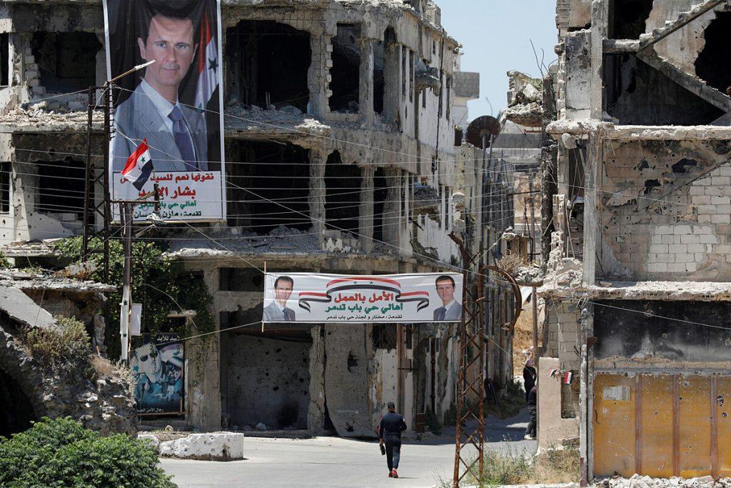 سوریه: انتخابات غافلگیرکننده با کمک مهربان قبیله اسد