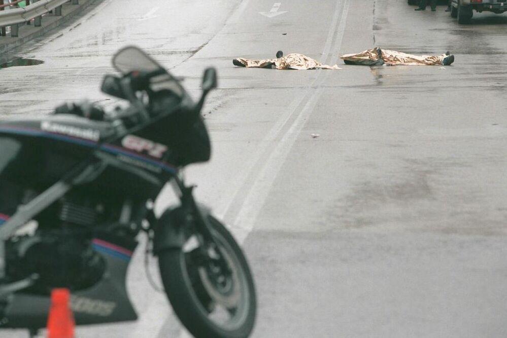 زنی در سانحه تصادف با همان موتورسیکلت فوت کرد که پسرش یک ماه پیش درگذشت
