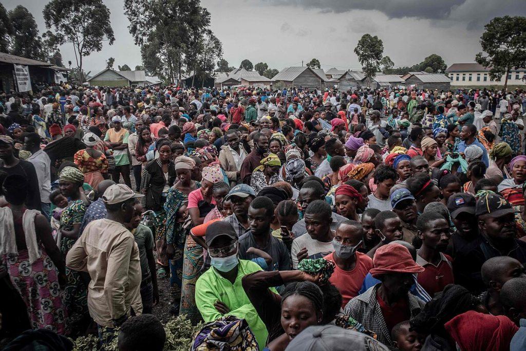 هزاران نفر با فوران آتشفشان نیراگونگو از شهر گوگوی کنگو تخلیه شدند