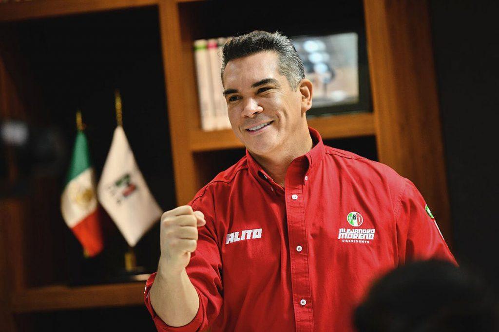 """الخاندرو مورنو ، رئیس جمهور PRI: """"تاکنون شکستگی از مکزیک وجود ندارد"""""""
