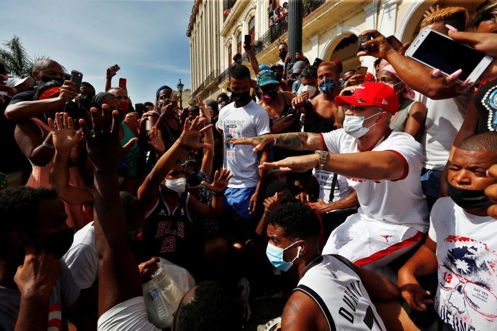 کوبا ایالات متحده را به داشتن پشت اعتراضات جزیره متهم می کند
