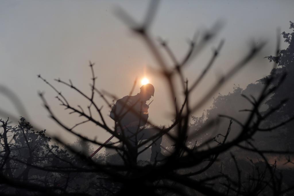 گرما و آتش سوزی در یونان پس از بدترین موج در 40 سال گذشته فروکش کرده است