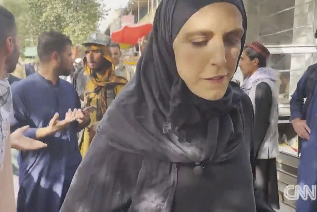 """کلاریسا وارد ، خبرنگار CNN در کابل: """"من از جان خود نمی ترسم"""""""