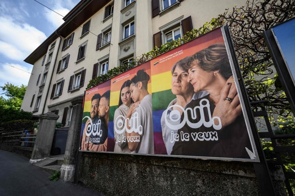 بر اساس نتایج اولیه ، سوئیس در همه پرسی به ازدواج همجنسگراها نه می گوید