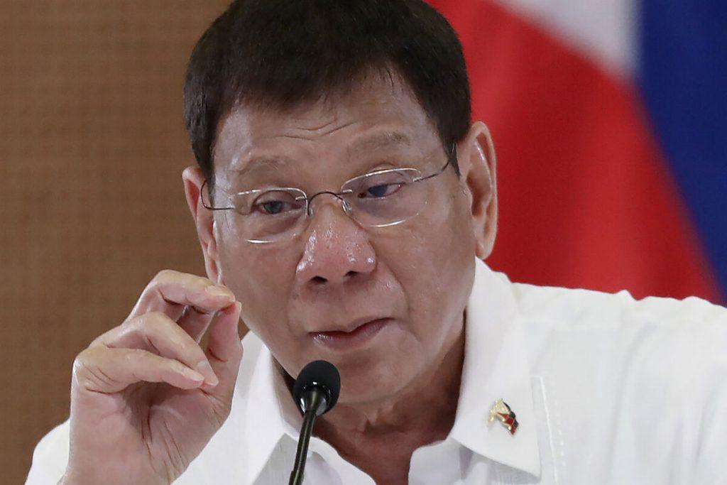 دوترته ، رئیس جمهور فیلیپین ، بازنشستگی خود را از زندگی سیاسی اعلام کرد